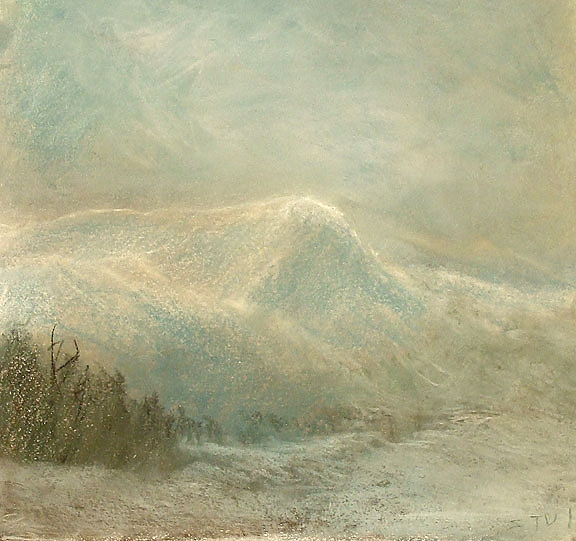 White Mountains Valley Scene